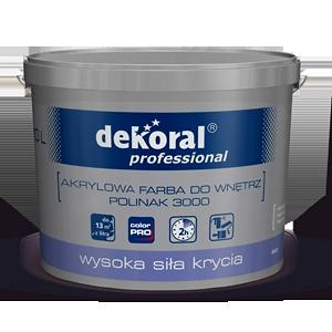Глубокоматовая акриловая краска Dekoral Professional Polinak 3000 15 л
