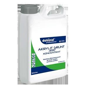 Силиконизированнная грунтовка Dekoral Professional Akrylit 3000 Grunt концентрат 1:4 5 л