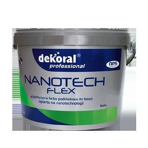Эластичная грунтовка Dekoral Professional Nanotech Flex 10 л