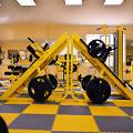Фото 4: Модульные полы для тренажерного зала