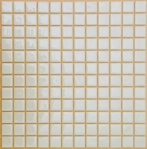 Мозаика плитка стеклянная Белая FL-M-021 Моноцвет