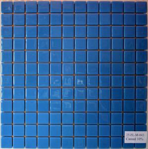 Мозаика стеклянная Синяя 10% FL-M-043