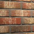 Фото 1: Фасадная клинкерная плитка под кирпич Felhaus klinker, серия Sintra