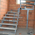 Фото 3: Лестница на двух косоурах