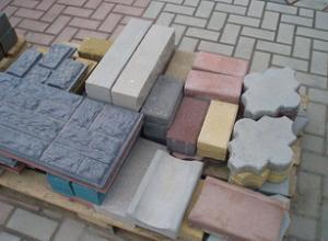 Тротуарная плитка  бордюр