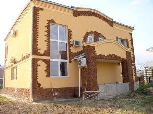 Отделочные работы фасада здания
