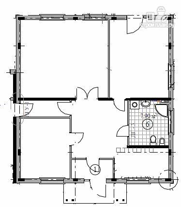 Фото 2: проект дом индивидуальный одноэтажный