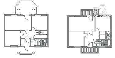 Фото 2: проект дом индивидуальный двухэтажный