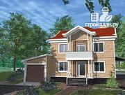 Проект дом индивидуальный двухэтажный
