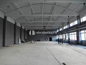 Окраска бетона (стен и потолков)