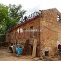 Фото 2: Очистка кирпичного фасада ресторана