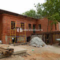 Фото 3: Очистка кирпичного фасада ресторана