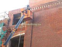 Пескоструйная очистка кирпичных и бетонных фасадов