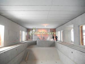 Пескоструйная очистка бетонных поверхностей