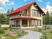 Проект уютный коттедж для большой семьи