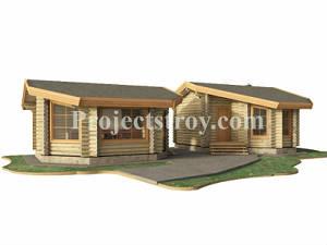 Проектирование деревянных домов - бань - срубов