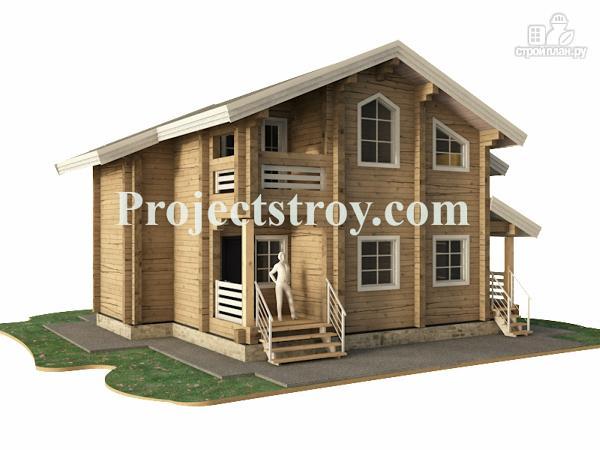Фото 4: проект дом из клееного бруса
