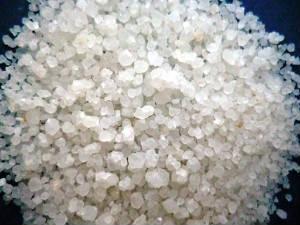 Песок кварцевый (кварц дробленный) фракция 0,7-1,6мм МКР, 25кг, 50кг