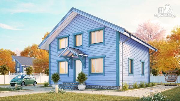 Фото: проект дом из клееного бруса