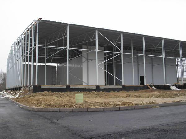 Фото Строительство промышленных зданий