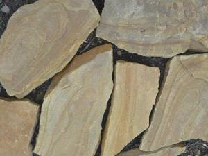 Песчаник Рыжий камень природный натуральный