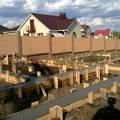 Фото 4: Изготовление фундамента с применением бетононасоса
