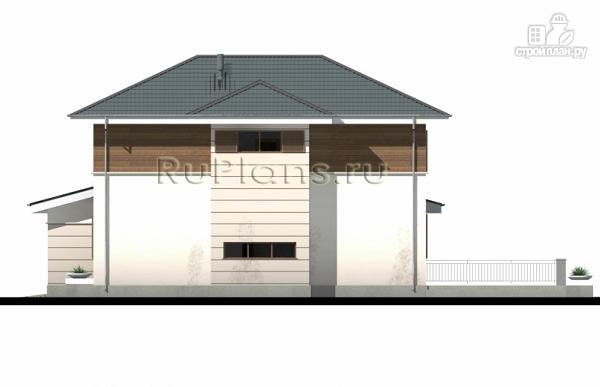 Фото 6: проект современный двухэтажный дом с гаражом
