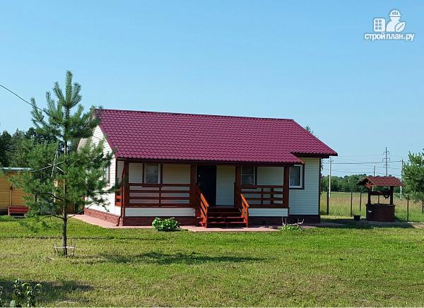 Фото 4: проект небольшой дачный дом, построенный по каркасной технологии