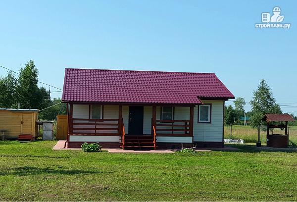 Фото 3: проект небольшой дачный дом, построенный по каркасной технологии