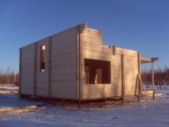 Анонс: О зимнем строительстве из клееного бруса