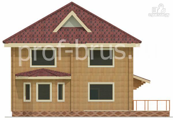 Фото 3: проект брусовый дом с 5-ю спальнями