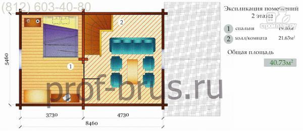 Фото 5: проект 5-комнатная квартира в собственном доме