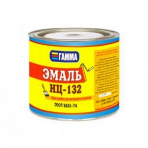 Эмаль НЦ-132  Гамма различные фасовки и цвета