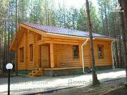 Фото: дом из бревна