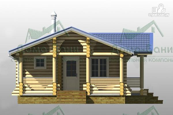 Фото 4: проект дом-баня из бревна