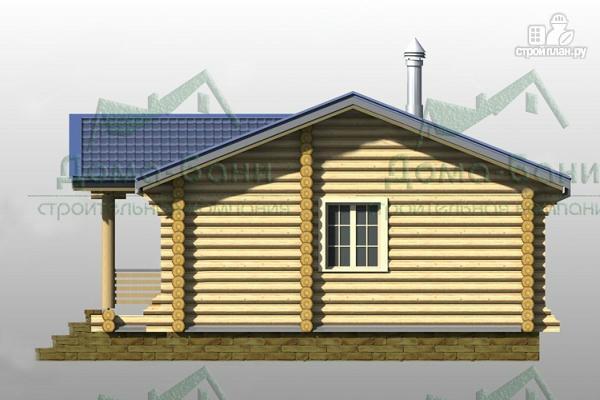 Фото 3: проект дом-баня из бревна