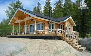 Проект дом из бревна