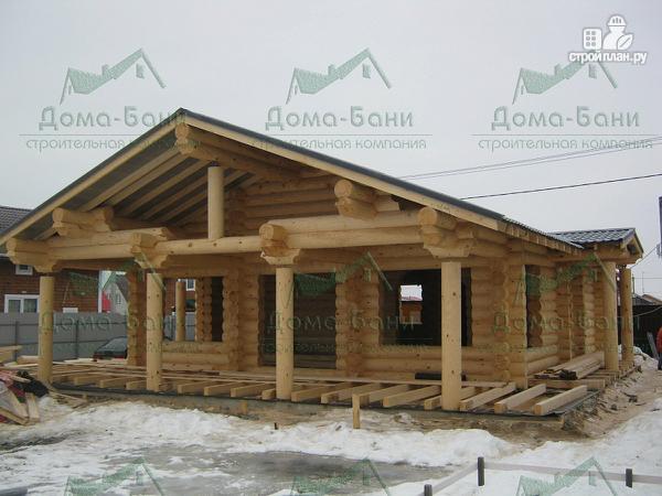 Фото 9: проект дом из бревна
