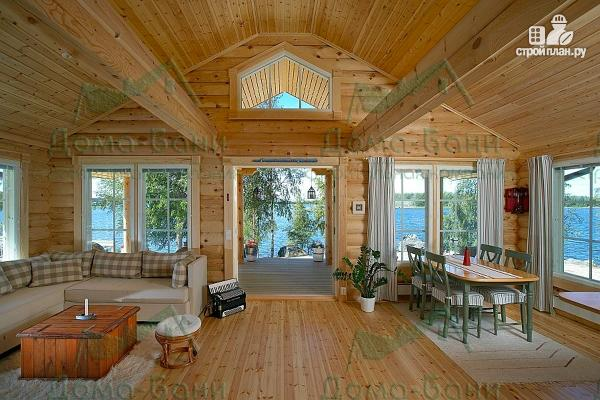 Фото 5: проект дом из бревна