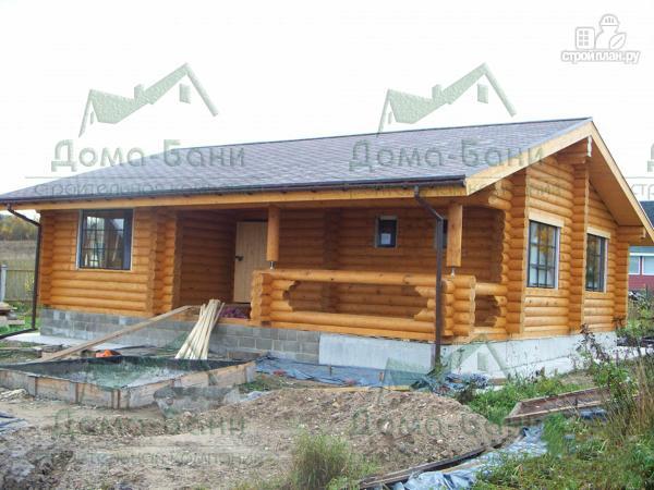 Фото 4: проект дом из бревна
