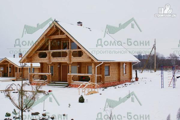Фото 3: проект дом из бревна