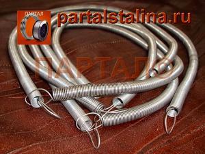 Комплект нихромовых спиралей для малого тандыра 0,7-1,0 м - мощность 3,6-4 кВт; 7-7,5 кВт