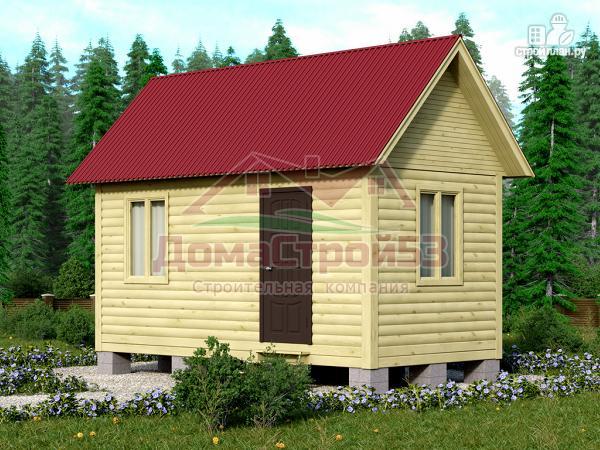 Фото: проект дом из профилированного бруса