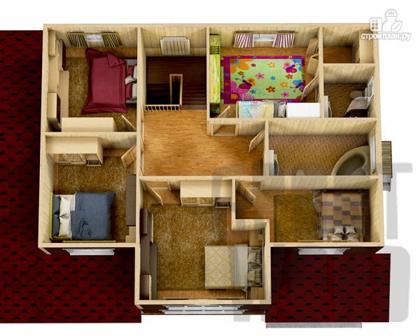 Фото 3: проект двухэтажный дом 15 х 10 м
