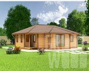 Проект одноэтажный дом 10 х 6 м