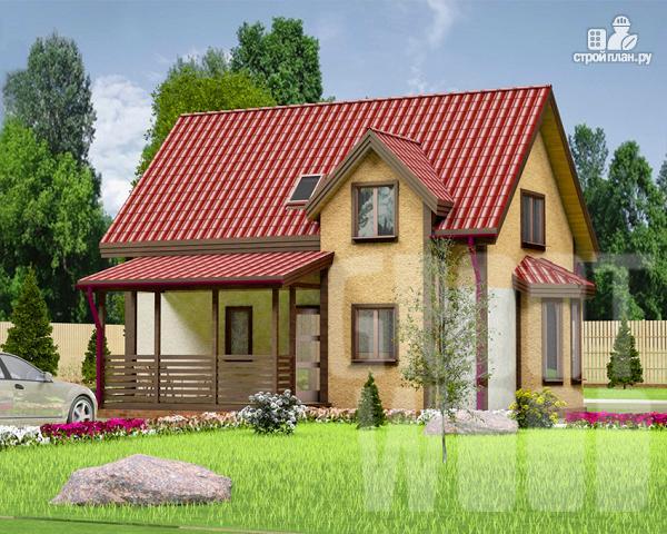 Фото: проект полутораэтажный дом 9 х 6 м