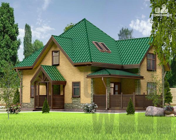 Фото: проект полутораэтажный дом 10 х 8 м