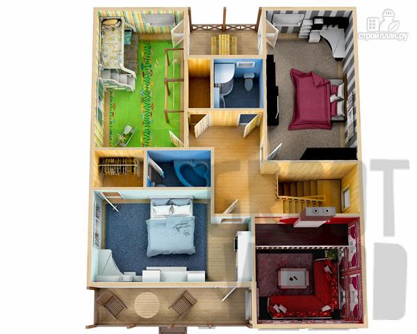 Фото 3: проект двухэтажный дом 12 х 10 м