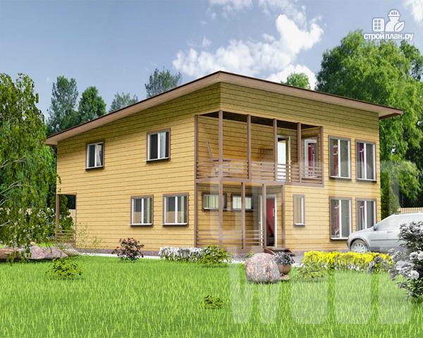 Фото: проект двухэтажный дом 12 х 10 м