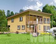 Проект двухэтажный дом 12 х 10 м
